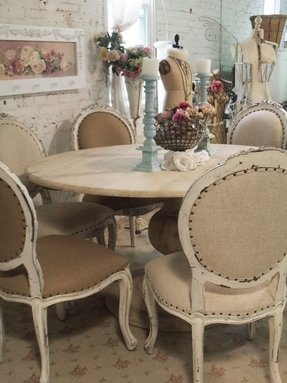 Sensational Shabby Chic Dining Table Visual Hunt Beutiful Home Inspiration Xortanetmahrainfo