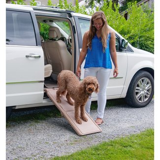 "Pet Gear Indoor Bi-Fold Half 42"" Pet Ramp & Reviews"