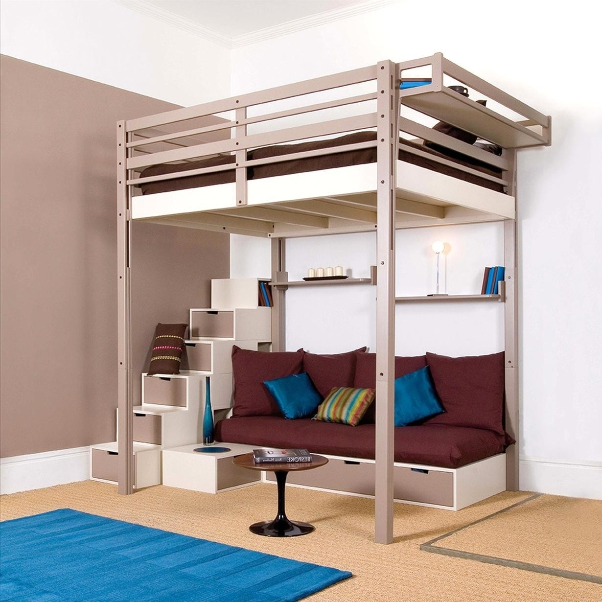 Bunk bed with stairs plans Wood Plans For Loft Bed With Steps Visual Hunt Full Size Loft Bed With Stairs Visual Hunt