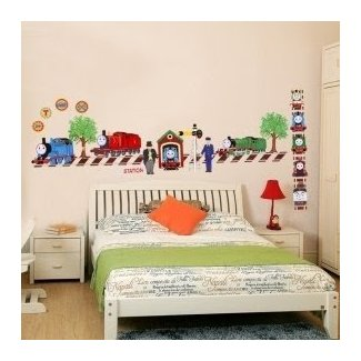 Por Thomas And Friends Wall Decor