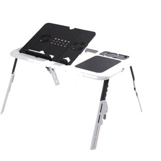 Portable Laptop Stand Usb Folding Laptop Table Bed Laptop ...