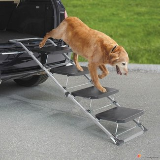 Portable Pet Staircase » Gadget Flow