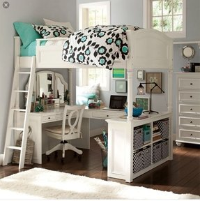 50+ Full Size Loft Bed With Desk You\'ll Love in 2020 ...