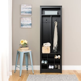 Prepac Space-Saving Entryway Organizer with Shoe Storage ...
