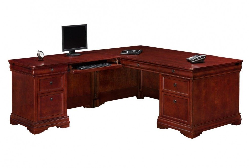new styles bef7c a37c4 50+ L-Shaped Executive Desk You'll Love in 2020 - Visual Hunt