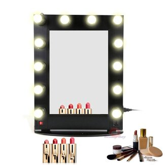 Professional Aluminum Hollywood Makeup mirror with lights
