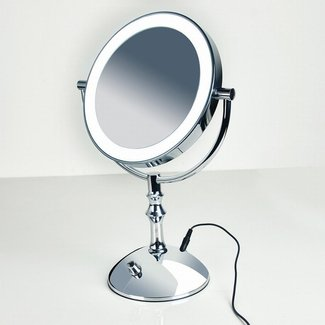 Professional Makeup Mirror With Light 8 Inch Led Compact ...