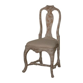 Provence Antique Gray French Country Dining Chair | Kathy ...