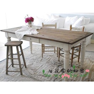 Rachel Ashwell Shabby Chic Couture Highgate Dining Table ...