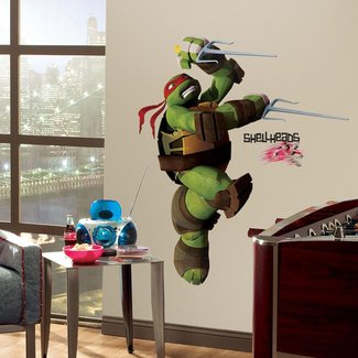 RAPHAEL GiaNT WALL DECALS Teenage Mutant Ninja Turtles ...