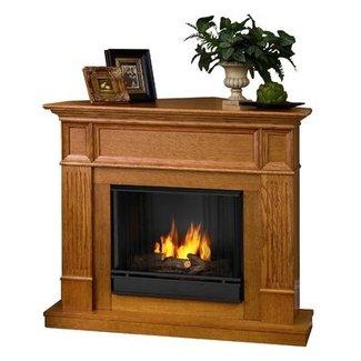 Real Flame Camden Ventless Gel Fuel Corner Fireplace ...
