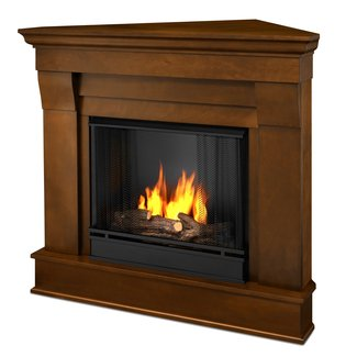 Real Flame Chateau Corner Ventless Gel Fireplace at Menards®