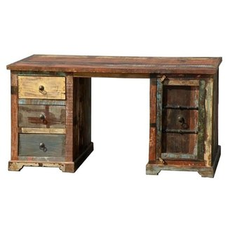 Reclaimed Wood Computer Desk - Buy Indian Computer Desk ...