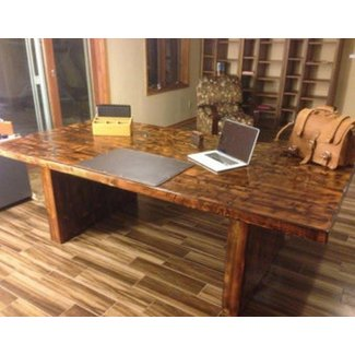 Reclaimed Wood Home Office Desks | Recycled Things