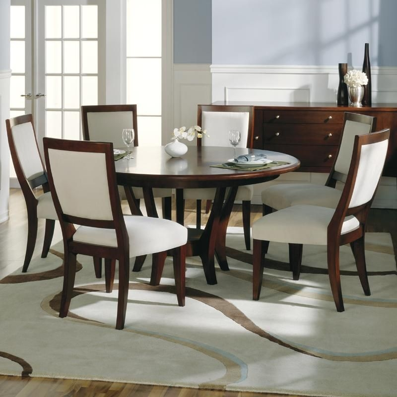Round Dining Table For 6 You Ll Love In, Round Kitchen Table Set With 6 Chairs