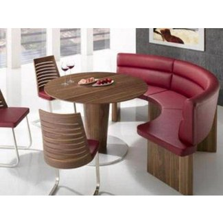 Round Dining Tables Bench Seating Interior Exterior