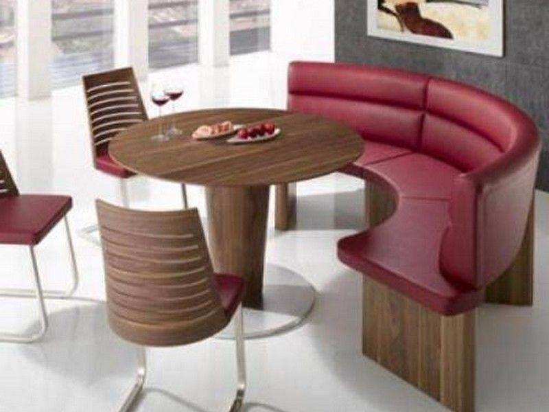Charmant Round Dining Tables Bench Seating U2014 Interior U0026 Exterior .