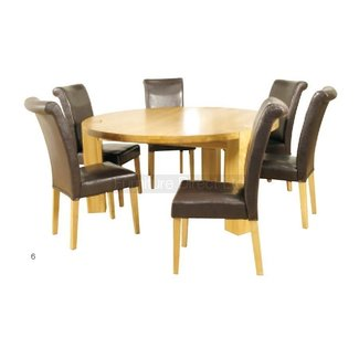 round dining tables for 6 | delmaegypt
