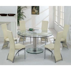 Amazing 50 Round Dining Table For 6 Youll Love In 2020 Visual Hunt Creativecarmelina Interior Chair Design Creativecarmelinacom