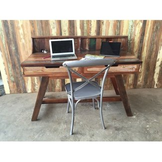 Rustic Chic Reclaimed wood computer desk – Rustic ...
