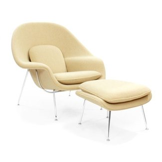 Saarinen Womb Chair in Cato by Eero Saarinen