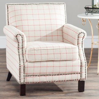 Safavieh Easton Club Chair - Windowpane