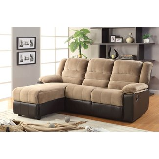 Sectional Sofa With Chaise Lounge And Recliner