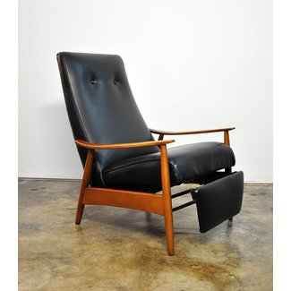 SELECT MODERN: Milo Baughman Recliner 74 Lounge Chair