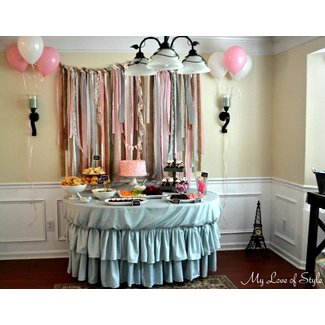 Shabby Chic Baby Shower | My Love of Style –