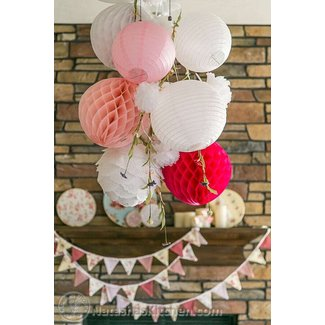 Shabby Chic Baby Shower, Party Menu & Baby Registry Ideas