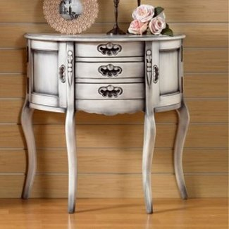 Shabby Chic Console Table 3 Drawers 2 Doors | Indonesia