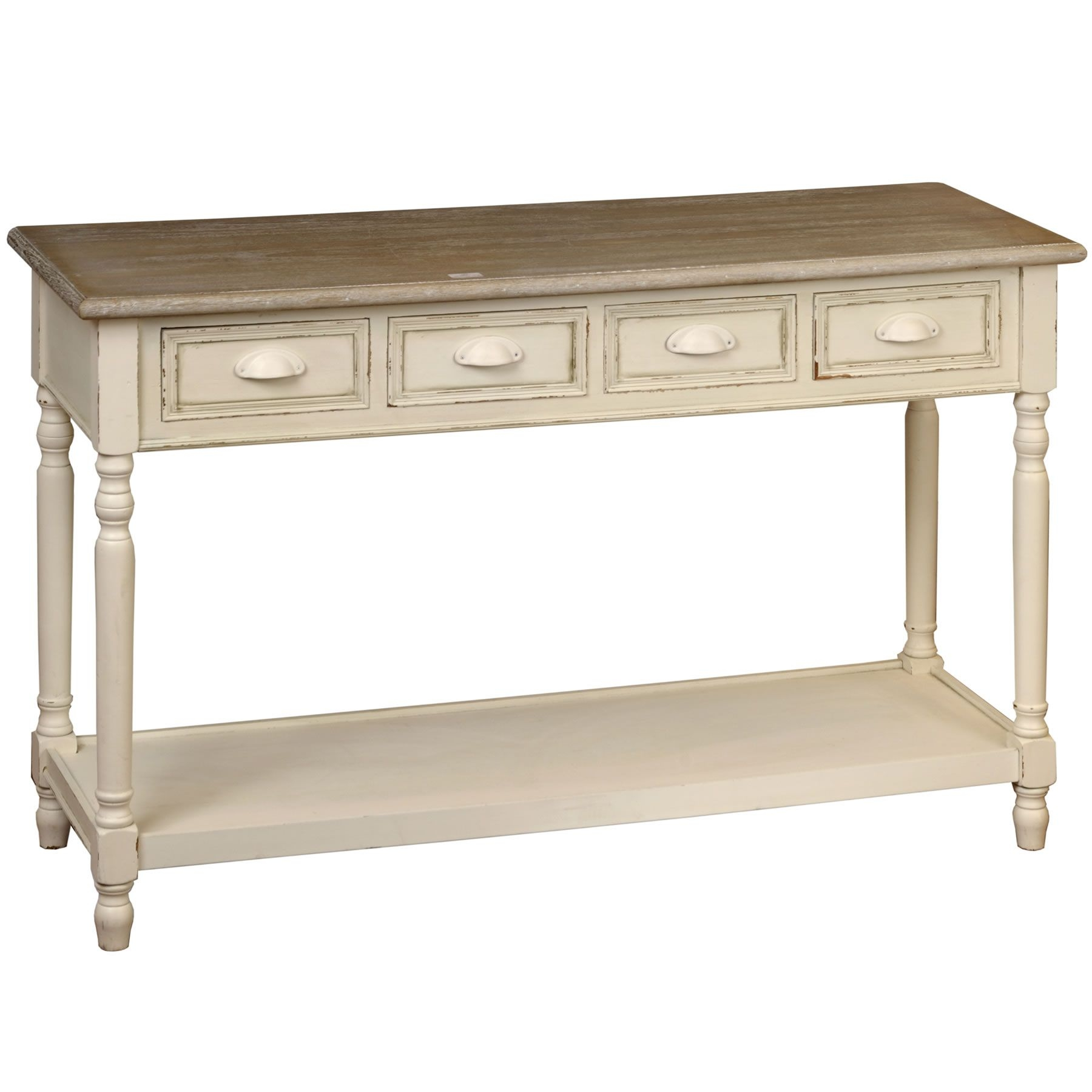 Shabby Chic Console Table, Shabby Chic Side Table, Console .