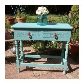 Shabby chic console table with Buy, sale and trade ads