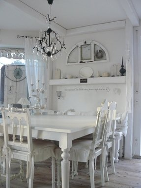 50+ Shabby Chic Dining Table You\'ll Love in 2020 - Visual Hunt