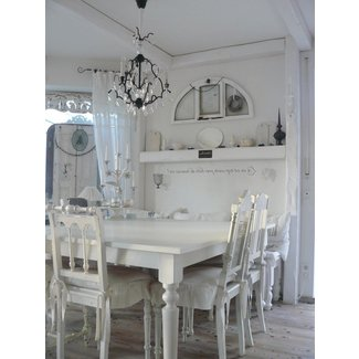 Shabby Chic Dining Table And Chairs Awesome White Dark ...