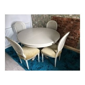Shabby Chic Dining Table And Chairs • £90.00 -