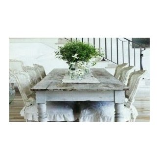 Shabby Chic Dining Table And Chairs. Shabby Chic Pine ...
