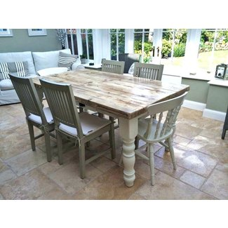 Shabby Chic Dining Table Set - Dining Table Shabby Chic