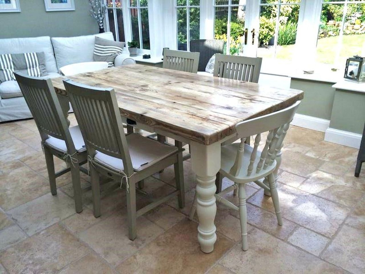 Superieur Shabby Chic Dining Table Set   Dining Table Shabby Chic