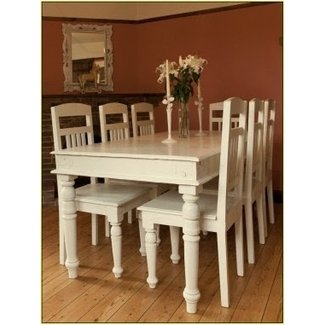 shabby chic dining table - TjiHome