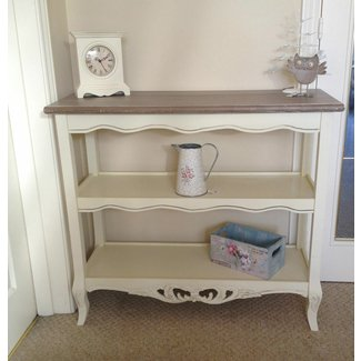 Shabby Chic French Style Cream 3 Shelf Hall Kitchen ...
