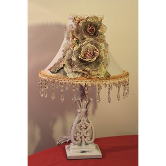 Shabby Chic Lamp Shade - Foter