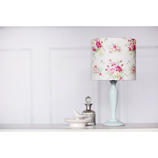 Shabby chic lamp shade shabby chic decor floral lighting