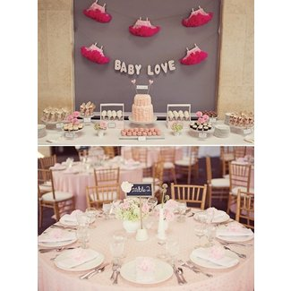 Shabby Chic Little Birdie Themed Baby Shower // Hostess ...