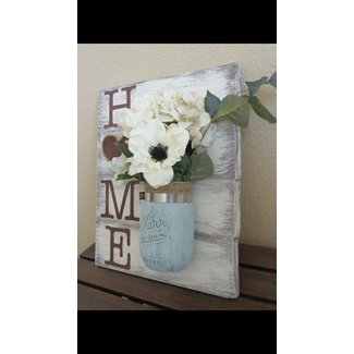 Shabby Chic Mason Jars DIY One Hour Craft | The