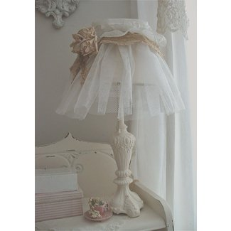 Shabby chic, Shabby and Lampshades on Pinterest