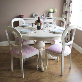 Phenomenal Shabby Chic Dining Chairs Visual Hunt Interior Design Ideas Gentotryabchikinfo