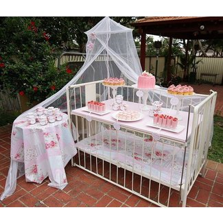 Shabby Chic Theme Baby Shower