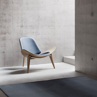 Shell Chair | Hans Wegner Shell Chair Online – FurnishPlus