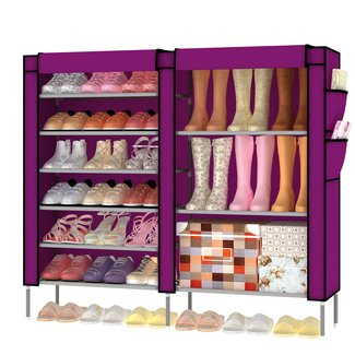 shoe rack cover -